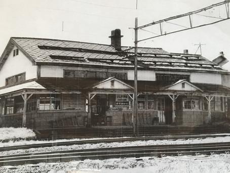定山渓鉄道、石切山駅です