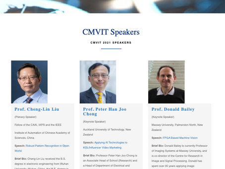CMVIT 2021, Auckland, New Zealand