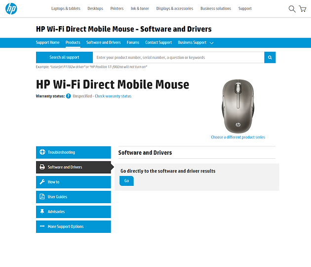 How to install HP Wi-Fi Direct Mobile Mouse on Windows 10  | XXL