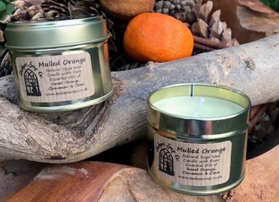 Mulled orange candle