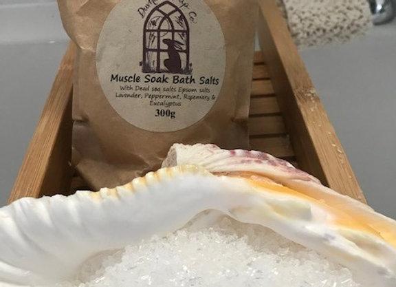 Muscle Soak Bath Salts 300g