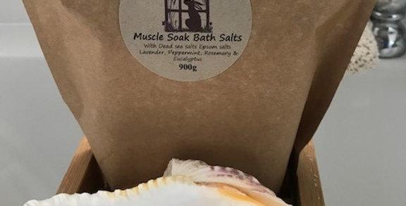 Muscle Soak Bath Salts 900g