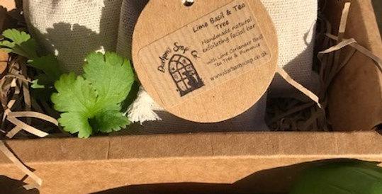 Facial Soap Bar Lime Basil & Tea Tree  50g bar