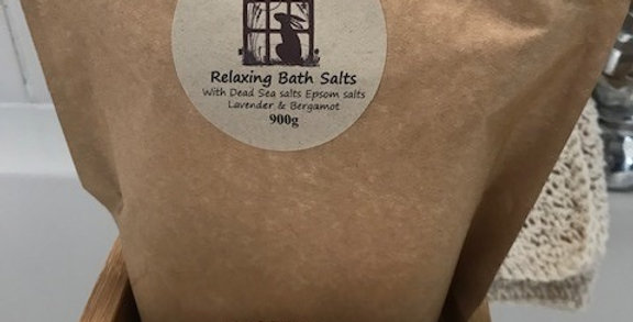 Relaxing Bath Salts 300g