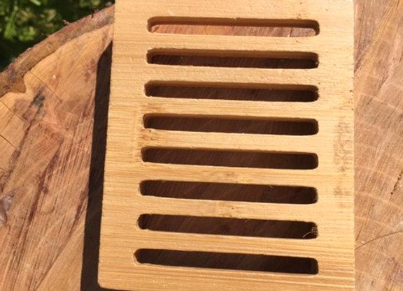 Hemu Wood Soap Saver ( style A)