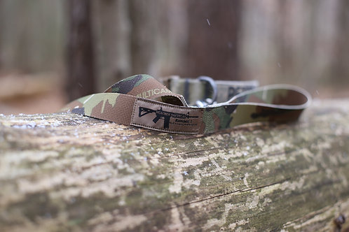 Training Dog Leash With Camo Webbing