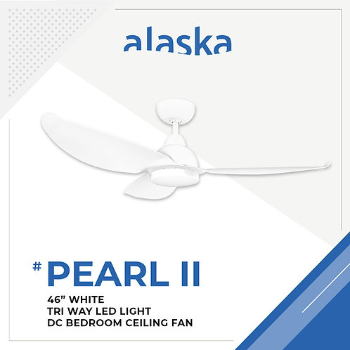 "Alaska Pearl 46"" - White"