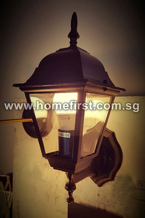 Outdoor Vintage Lamp Post LED Wall Light