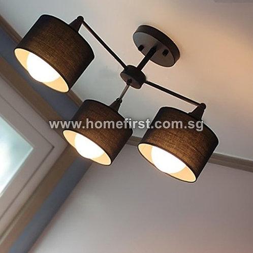 Modern 3 Heads Ceiling Light