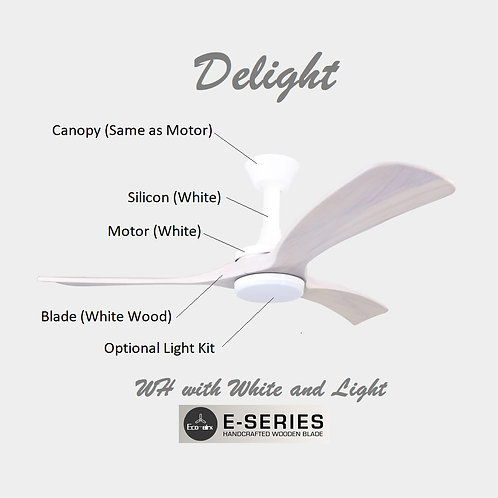 Delight(WH)-White Wood