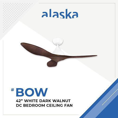 Alaska BOW - White Motor with Dark Walnut Blade