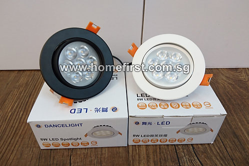 LED Round Spotlight (8W)