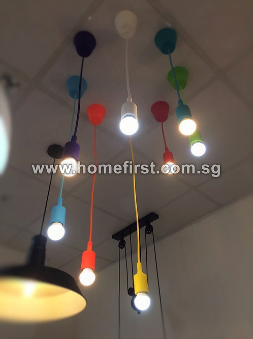 Colorful Silicone Lamp Holder