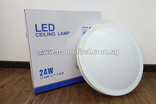 Modern Round LED Ceiling Light - 15W & 24W