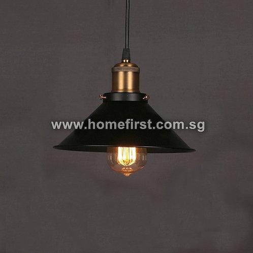 Retro Cone Style Pendant Light ~ PL-ID004A-1Head