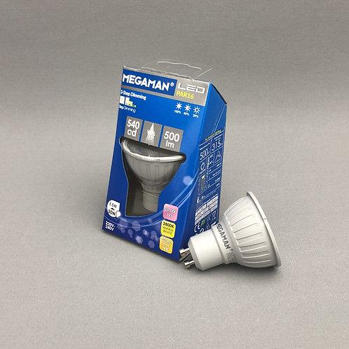Megaman LED GU10 (5.5W) - Step Dim 2800K