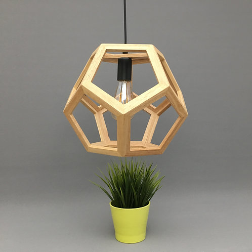 Pendant Light with Real Woods: PL-CG3350