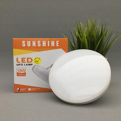 UFO LED Bulb: 18W (3000K)