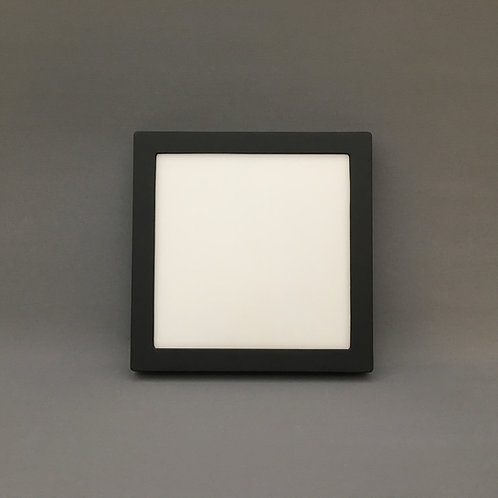 Tri Color Surface Mount Square Black 12w 36w Home First Lighting