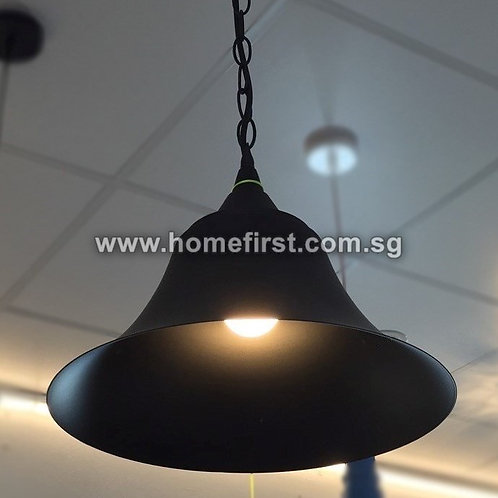 Vintage Iron Cap Pendant Light