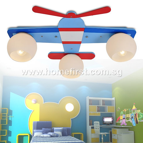 Flying Aeroplane Pendant Light