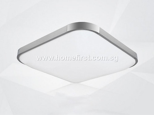 Stainless Steel Square LED Ceiling Light