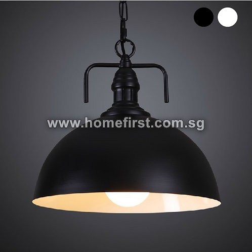 Iron Semi-Sphere Pendant Light