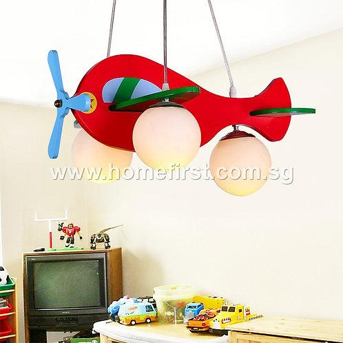 Flying Helicopter Pendant Light
