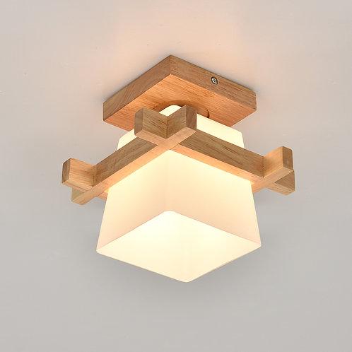Wooden LED Ceiling Light - CL-FL144-1H