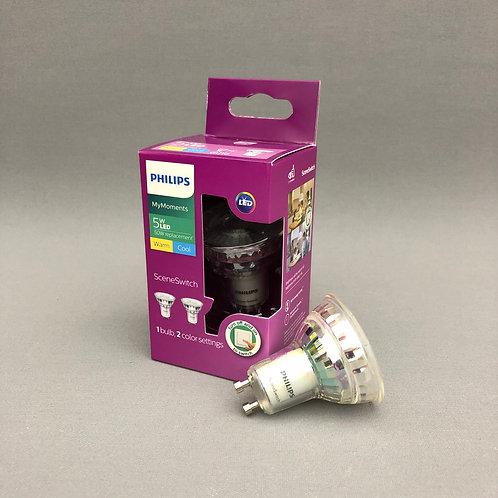 Philips LED GU10 (5.0W) - SceneSwitch