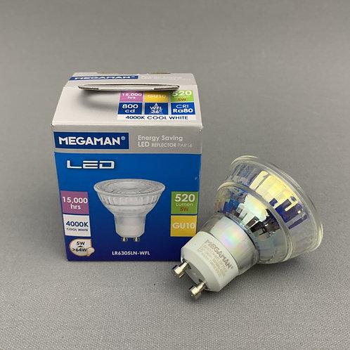 Megaman LED GU10 (5.0W) - 4000K Cool White