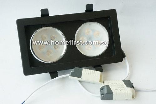 LED Venture Downlight (black)