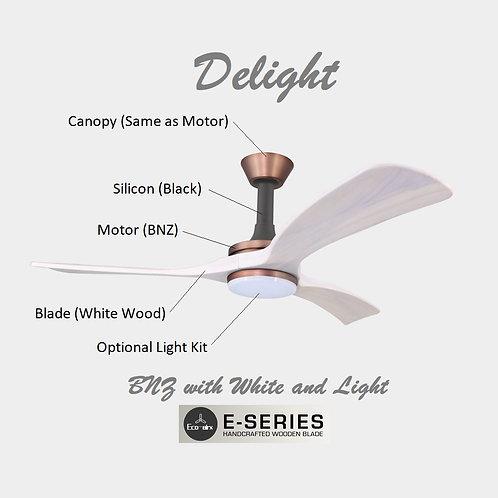 Delight(BK)-White Wood