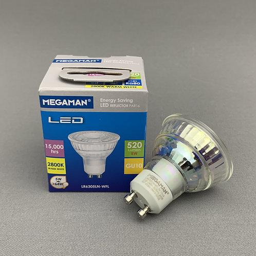 Megaman LED GU10 (5.0W) - 2800K Warm White