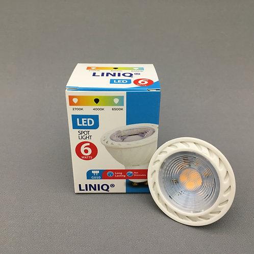 LINIQ LED GU10 (6.0W) - 4000K Cool White