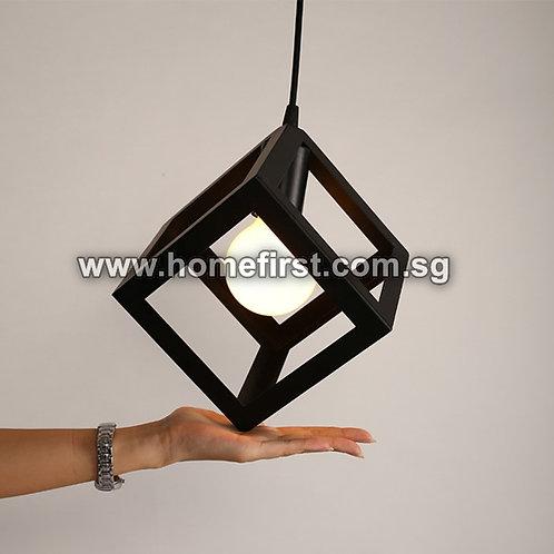 Modern Cube Pendant Light ~ PL-ID038