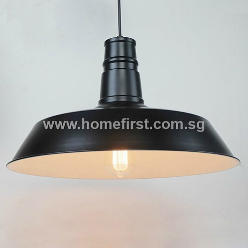 Industrial Iron Plate Pendant Light ~ PL-ID002A