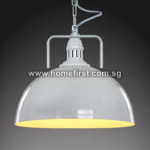 Iron Semi-Sphere Pendant Light