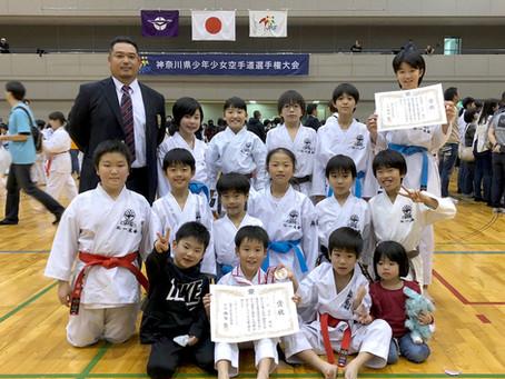 2019 第25回神奈川県少年少女空手道選手権大会(小学生の部)