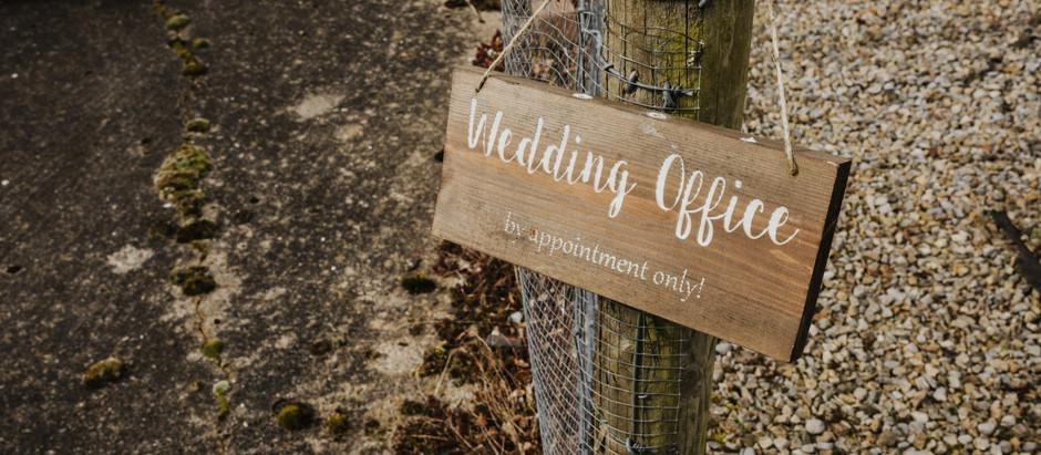 Wedding planning in lockdown...