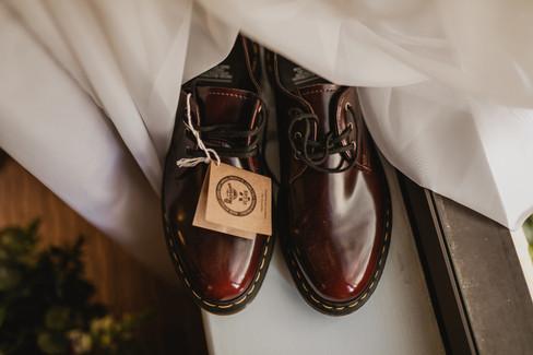 LGBT alternative vegan wedding photography hull west yorkshire vegan doc marten shoes