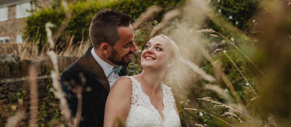 Intimate wedding at the Black Horse Inn // Hannah & Andy //