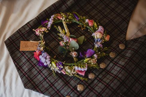 LGBT alternative vegan wedding photography hull west yorkshire flower crown