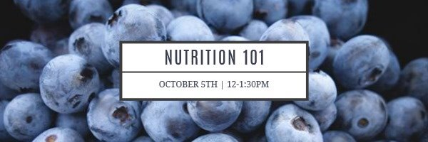 Nurtrition 101 Cover Image