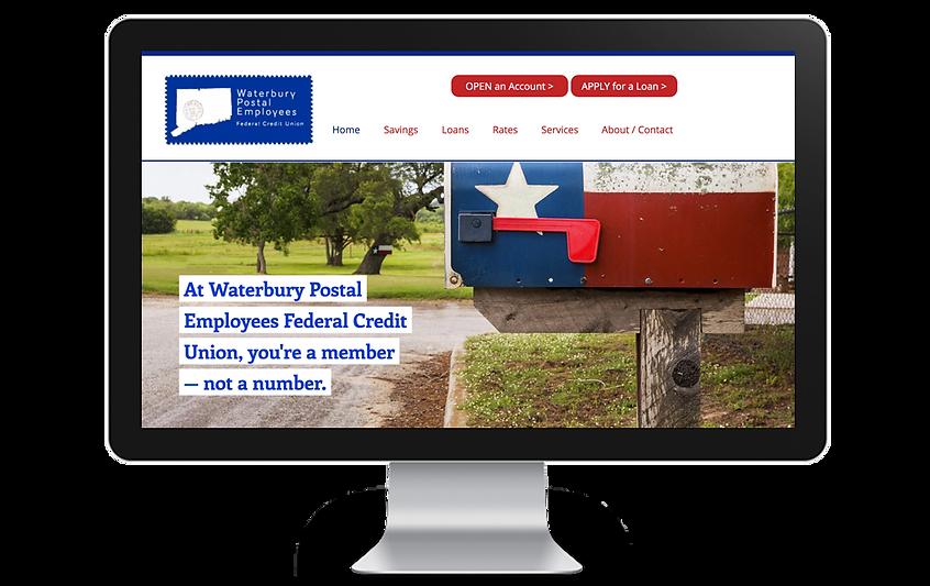 Waterbury Postal Employees FCU_HERO_PolymathUX