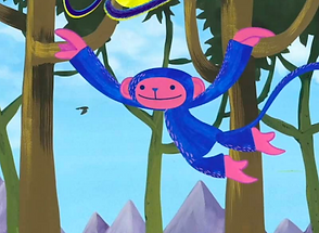 Blue Monkey_Storybook App Theme Song