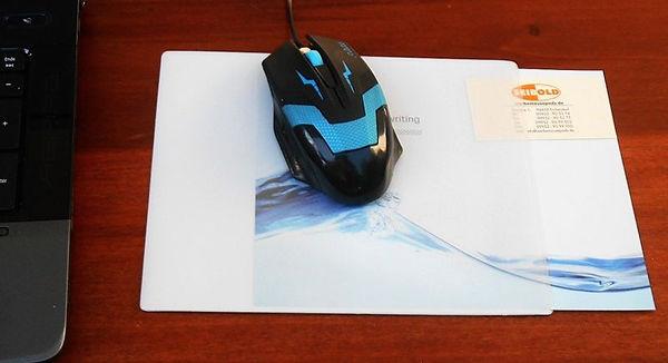 Unbedrucktes Mousepad