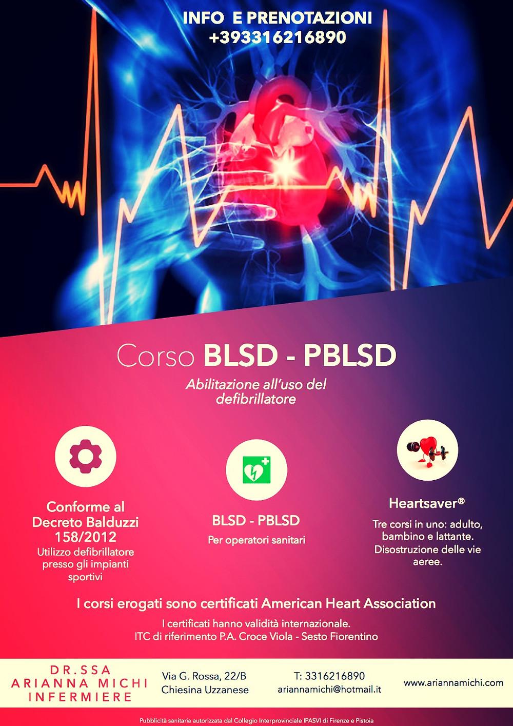 BLSD - American Heart Association - 7 Febbraio 2018