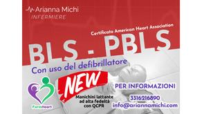 Edizione Novembre 2021 BLS - PBLS con abilitazione all'uso del DAE - American Heart Association