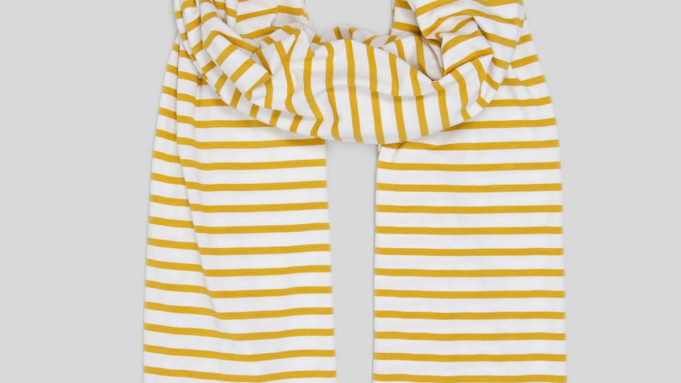 Mustard Stripe Scarf